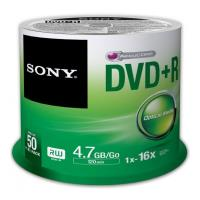 sony dvd r 47gb 120min 16x cakebox 50pcs photo
