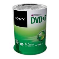 sony dvd r 47gb 120min 16x cakebox 100pcs photo