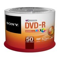 sony dvd r 47gb 120min 16x printable cakebox 50pcs photo