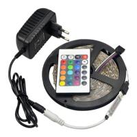 led strip 5 meter rgb 5050 with remote photo