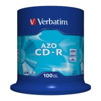 verbatim cd r 80min 700 mb 52x dlp azo cakebox 100pcs photo