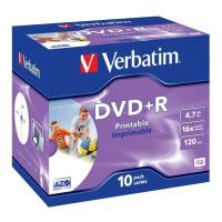 verbatim dvd r 16x 47gb jewel printable 10pcs photo