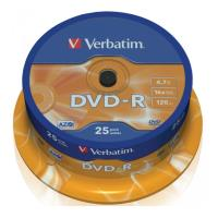 verbatim dvd r 16x 47gb spindle cakebox 25pcs photo