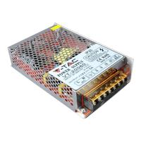 v tac led power supply 75w 12v 6a metal photo