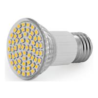 lamptiras whitenergy led e27 60 smd 3528 3w 230v cold white photo