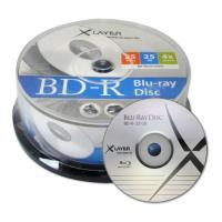 xlayer blu ray bd r 4x 25gb cakebox 25pcs photo