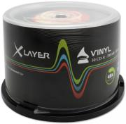 xlayer cd r 80min vinyl 48x 700mb cb 50pcs photo