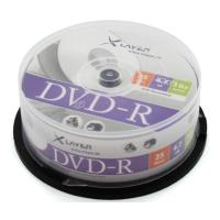 xlayer dvd r 47gb 16x inkjet white full surface printable cakebox 25pcs