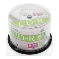 xlayer cd r 80min 52x 700mb cakebox 50pcs photo