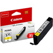 gnisio canon cli 571xl yellow me oem 0334c001 photo