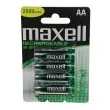 mpataries maxell rechargeable aa 2300mah 4 tem photo