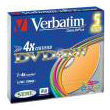 verbatim dvd rw 120min 47gb 4x colour slim case 5pcs photo