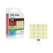 lamptiras whitenergy led 16smd g4 3w 12v white cold photo