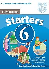 cambridge young learners english tests 6 starters students book photo