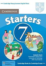 cambridge young learners english tests 7 starters students book photo