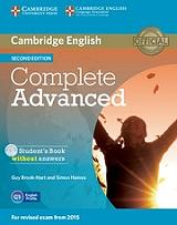complete advanced students book cd rom without answers photo