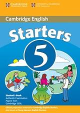 cambridge young learners english tests 5 starters students book photo