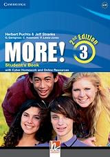 more 3 students book cd rom with cyber homework 2nd edition photo