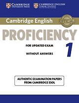 cambridge english proficiency 1 for update exam photo