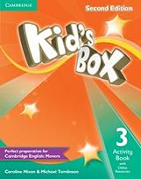 kids box 3 activity book with online resources photo