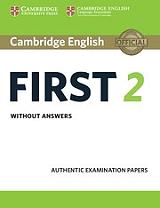 cambridge english first 2 students book photo