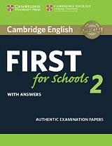 cambridge english first for schools 2 with answers photo