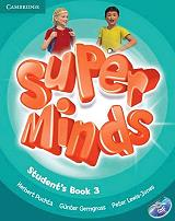 super minds 3 students book dvd rom photo