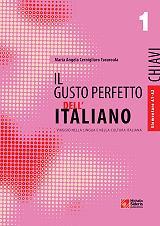 il gusto perfetto dell italiano 1 chiavi elementare intermedio photo
