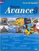NUEVO AVANCE 3 LIBRO DEL ALUMNO + CD βιβλία   εκμάθηση ξένων γλωσσών