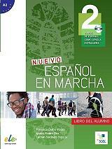 nuevo espanol en marcha 2 a2 libro del alumno cd photo
