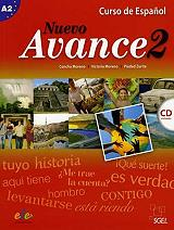 nuevo avance 2 a2 libro del alumno cd photo