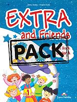 EXTRA AND FRIENDS JUNIOR A POWER PACK (ALPHABET BOOK, ACTIVITY BOOK, VOCABULARY, βιβλία   εκμάθηση ξένων γλωσσών