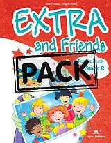 EXTRA AND FRIENDS JUNIOR B POWER PACK PUPILS BOOK (+ ACTIVITY,VOCABULARY & G βιβλία   εκμάθηση ξένων γλωσσών