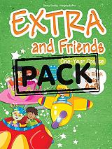 EXTRA AND FRIENDS ONE YEAR COURSE JUNIOR A+B PUPILS BOOK βιβλία   εκμάθηση ξένων γλωσσών