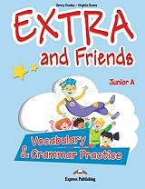 extra and friends junior a vocabulary and grammar practice photo