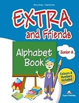 extra and friends junior a alphabet book photo