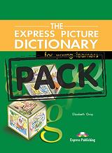 the express picture dictionary for young learnears students book activity book cd photo