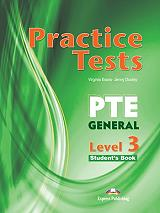 practice test pte general level 3 students book photo