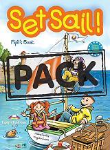 set sail 3 pupils book pupils audio cd my alphabet book photo