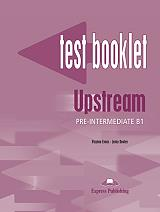 upstream pre intermediate b1 test booklet with key photo