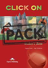 click on 1 students book cd pack photo