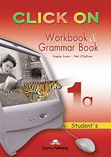 click on 1a workbook and grammar book photo