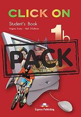 click on 1b students book cd pack photo