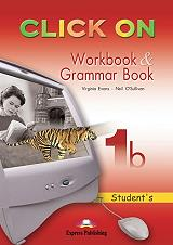 click on 1b workbook and grammar book photo