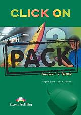click on 2 students book cd pack photo