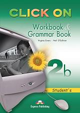 click on 2b workbook and grammar book photo