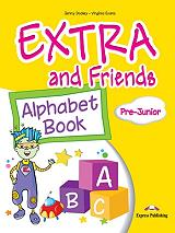 extra and friends pre junior alphabet book photo