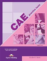 cae practice tests 1 students book photo