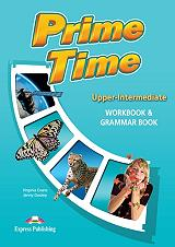 prime time upper intermediate workbook and grammar book photo
