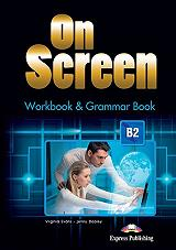 on screen b2 workbook and grammar book photo